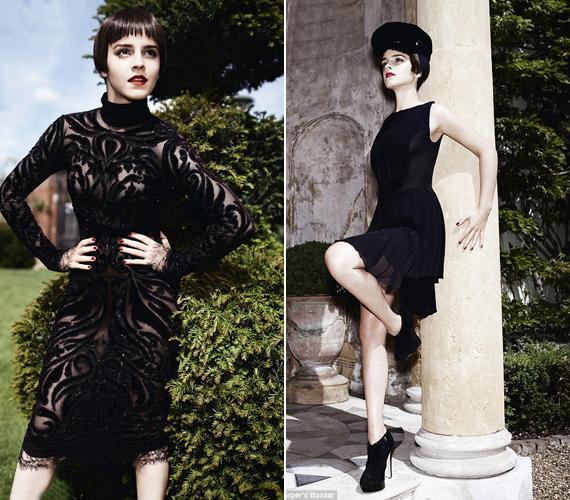 Júliusban a Harper's Bazaar is közölt róla egy rendhagyó fotósorozatot, ahol femme fatale-ként állt a fotós kamerája elé átlátszó ruhában.