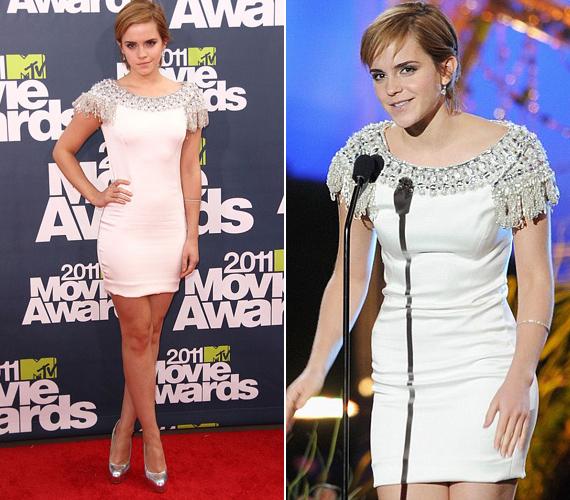 Emma mindvégig vonzónak és magabiztosnak tűnt, rég nem láthatták már rajongói ilyennek.