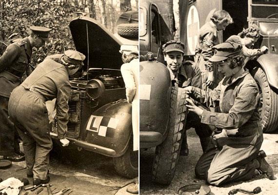 A brit hadsereg a második világháborúban nőket toborzott, és 1938-ban létrehozták az Auxiliary Territorial Service - Kiegészítő Területi Szolgálat - nevezetű női ágazatot. Erzsébet királynő is ennek a csoportnak a tagja volt, a második világháború alatt teherautó-sofőrként szolgált, sőt, megtanult autót szerelni is.