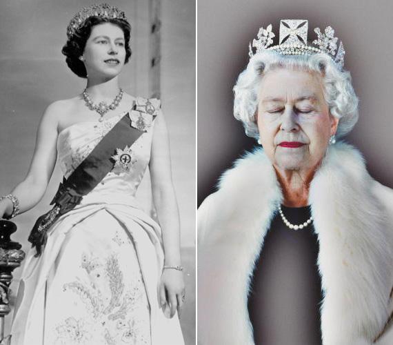 1952. február 6-án koronázták Nagy-Britannia uralkodójává. A különleges jobb oldali felvétel 2008 novemberében a The Guardianban jelent meg.