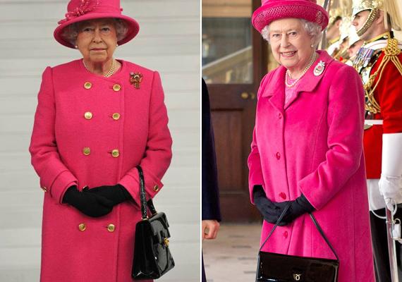 Katalin hercegnéhez hasonlóan Erzsébet királynő is stílusikon. 2013-ban a kis fekete táskát 24 óra alatt elkapkodták, miután látták a királynő kezében. A Lautner cég közleménye szerint ennek köszönhető, hogy 50%-kal emlekedett a kereslet a táskáik iránt.