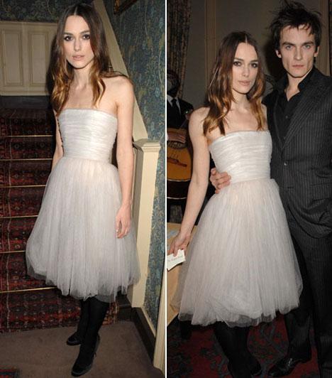 Keira KnightleyA brit színésznő május 4-én Franciaországban, egy Provence-i kis faluban lett James Righton zenész felesége.Kapcsolódó cikk:Még az esküvőjére sem vásárolt új ruhát »