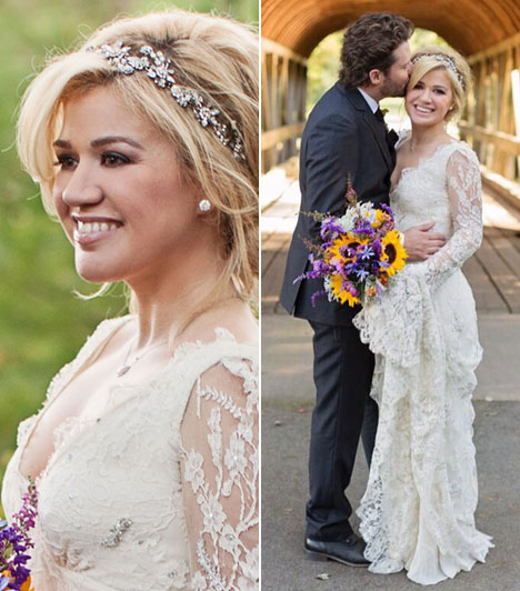 Kelly ClarksonAz amerikai énekesnő október 20-án, egy titkos ceremónián mondta ki a boldogító igent Brandon Blackstock menedzsernek.