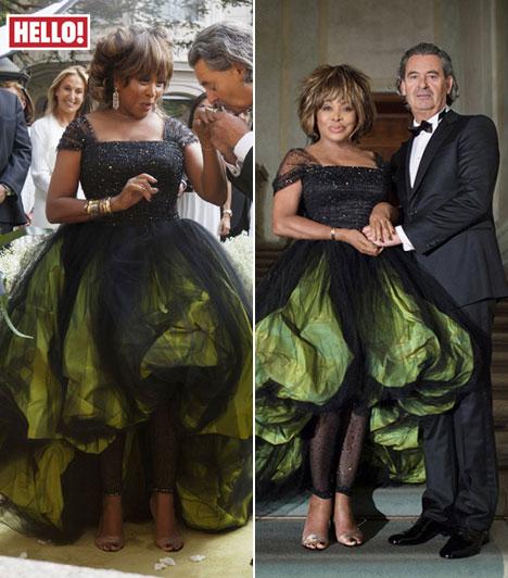Tina TurnerA világhírű énekesnő 73 évesen úgy döntött összeköti az életét a nála tizenhat évvel fiatalabb Erwin Bach német zenei producerrel, akivel 1986 óta vannak együtt. Egy rendhagyó Giorgio Armani modellben ment férjhez Svájcban július 21-én.Kapcsolódó cikk:16 évvel fiatalabb párja kérte meg az énekesnő kezét »