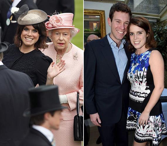 Eugénia hercegnő állítólag nagyon közel áll a királynőhöz, és nagyinak szólítja. Szintén közel áll a szívéhez Jack Brooksbank, akivel már öt éve járnak.