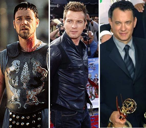 Russell Crowe a Gladiátor idején nyerte el a kitüntető címet, de a kisfiús Ewan McGregor és az Oscar-díjas Tom Hanks is volt már Év Színésze díjazott.
