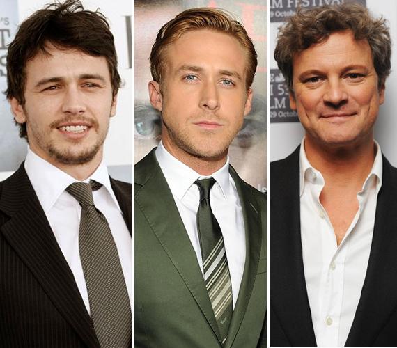 Idén is több színész volt versenyben: a multitalentum James Franco, a karizmatikus Ryan Gosling vagy az Oscar-díjas Mr. Darcy, azaz Colin Firth is nyerhetett volna.