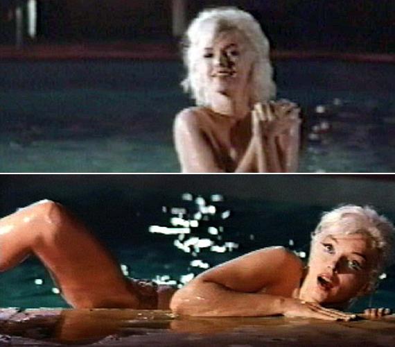 Így festett Marylin Monroe abban a reklámfilmben, ahol mind egy szálig megszabadult ruháitól.