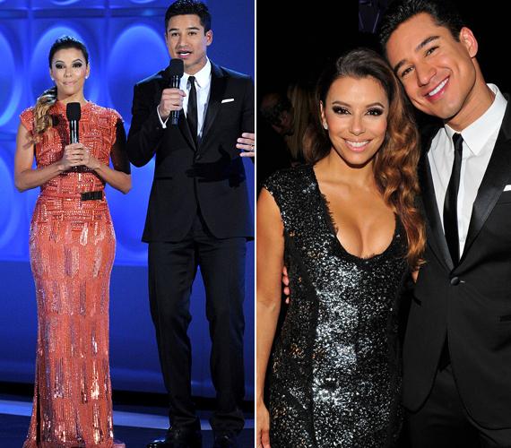 Műsorvezetőtársa, Mario Lopez hagyta, hogy tündököljön.