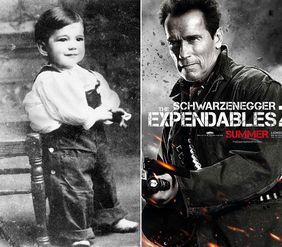 Az 1947-es Arnold Schwarzenegger elképesztő karriert futott be, pedig pár évesen biztosan nem gondolta volna, hogy ilyen nagy sztár lesz. Az eredetileg testépítőként karriert befutó osztrák származású színész olyan filmekkel teremtette meg akcióhős-kultuszát, mint a Terminátor, az Emlékmás vagy a Két tűz között. Az I'll be back!, azaz a Visszatérek! mondata pedig mára szállóigévé vált, a legtöbb filmjében elhangzik, a rajongók szinte már várják, mikor hallják.