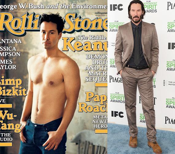2000-ben ki más kerülhetett volna az egyik címlapra, mint Keanu Reeves, aki akkoriban a Matrix miatt vált világszerte ismertté. A Wachovski-fivérek különös atmoszférájú 1999-es sci-fije forradalmat indított el a filmkészítésben is, és négy Oscarral jutalmazták. Keanu Reeves azóta egyaránt szerepelt nagy és kis költségvetésű filmekben is, de a mozirajongóknak valószínűleg mindörökre Neo marad.