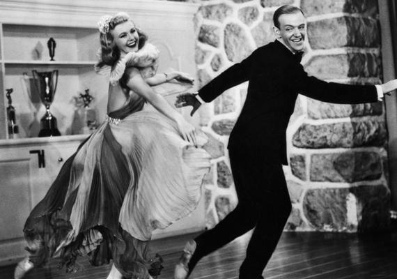 A legendás táncos áros, Fred Astaire és Ginger Rogers sem voltak jó viszonyban. Habár a férfi vérbeli úriember volt, annyit azért elárult életrajzában, hogy Ginger Rogers főnökösködő természete volt a legtöbb konfliktus forrása.