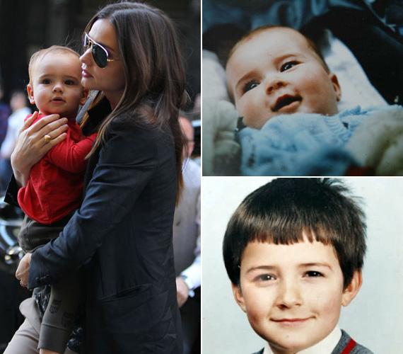 Ha összevetjük az Orlando Bloomról kiskorában készült képekkel, Flynn kiköpött apja.