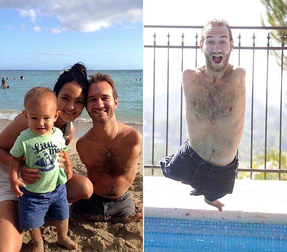 Nick Vujicic kezek és lábak nélkül született, de élete bárki előtt példa lehet. A 32 éves ausztrál férfi motivációs trénerként dolgozik, és számára nincs lehetetlen. Bár gyerekkorában megjárta a poklot testileg és lelkileg is, 17 éves korában létrehozott egy nonprofit szervezetet Élet végtagok nélkül néven, és világszerte tart tréningeket, hogy felhívja a figyelmet a betegségre, és erőt öntsön az elkeseredett emberekbe. Nicknek az is sikerült, hogy megtalálja élete asszonyát, közös kisfiuk is született. Állítólag egy pár cipőt tart a szekrényében, mert úgy gondolja, a csodákban hinni kell.