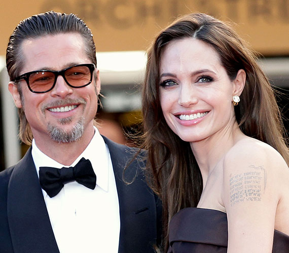 Angelina Jolie és Brad Pitt a Mr. és Mrs. Smith forgatásán szerettek egymásba. Három örökbefogadott és három saját gyermeket nevelnek, 2014 házasodtak össze.
