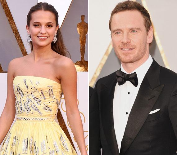 A 38 éves színész, Michael Fassbender a Fény az óceán felett című film forgatása során szeretett bele a nála tíz évvel fiatalabb svéd színésznőbe, Alicia Vikanderbe.