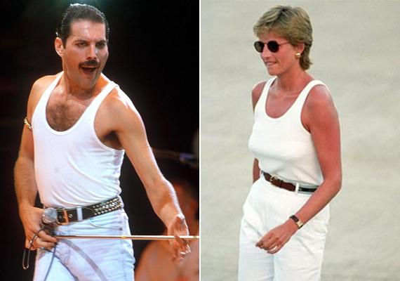 """Kevesen tudják, de Diana nagy rajongója volt a Queen együttesnek, azonban akkora volt a hírverés a hercegnő körül, hogy nem tudott elmenni egy koncertre sem. Freddie-nek remek ötlete támadt, és fiúvá maszkírozta Lady Di-t. Cleo Roccos meg is írta önéletrajzi könyvében:""""Beléptünk a terembe és úgy éreztük, hogy kész, itt a vége, lebuktunk. Ránéznek majd és mindenki felismeri őt és vége a színjátéknak. Legnagyobb meglepetésünkre üres tekintetek meredtek felénk és szinte átnéztek a hercegnőn. Egyszerűen imádta, hogy végre nem ő van a középpontban."""""""