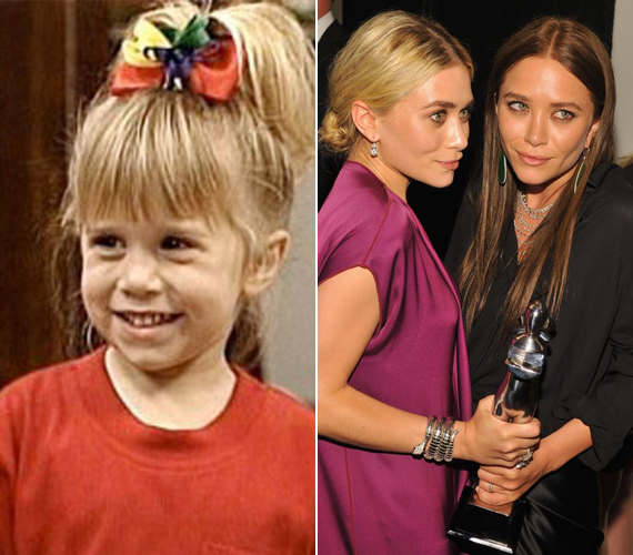 Mary-Kate és Ashley Olsen felváltva játszotta a család legkisebb lányát. Jelenleg saját divatcégüket igazgatják, színészi karrierjüket pedig külön igyekeznek egyengetni.