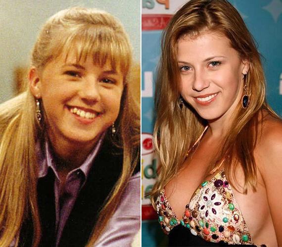 Jodie Sweetin játszotta a középső gyereket. A most 30 éves színésznő már két gyermek anyja, és a harmadik férjével él.