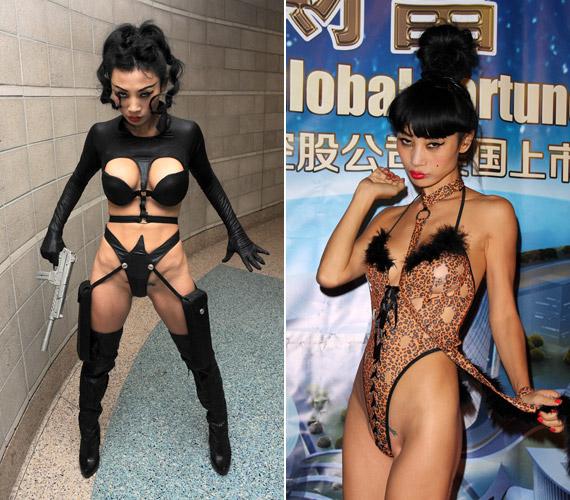 Bai Ling aGlobal Fortune Leadership bulin és aComikaze-n is kiverte a biztosítékot körülbelül semmit nem takaró ruháival.