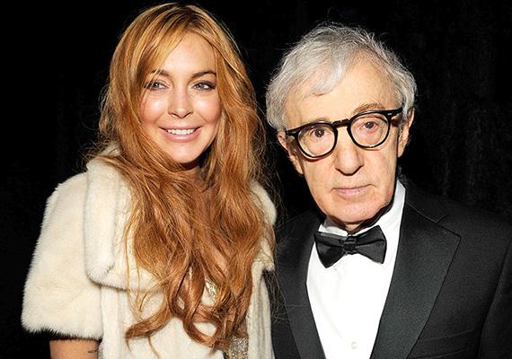 Kíváncsiak lennénk, hogy Lindsay Lohannek és Woody Allennek milyen közös témái vannak, ugyanis a botrányos színésznő és a színész gyakran vacsorázik együtt, hiszen jó barátok.