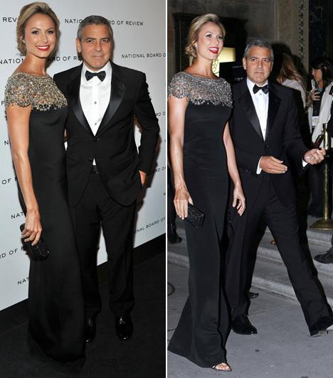 George Clooney és Stacy Keibler  A megrögzött hollywoodi agglegény, George Clooney is meghúzhatta magát volt pankrátor barátnője, a jelenleg modellként is dolgozó Stacy Keibler és annak 180 centije mellett.  Kapcsolódó cikk: Meg kellett operálni! Ismét kórházba került a közkedvelt színész »