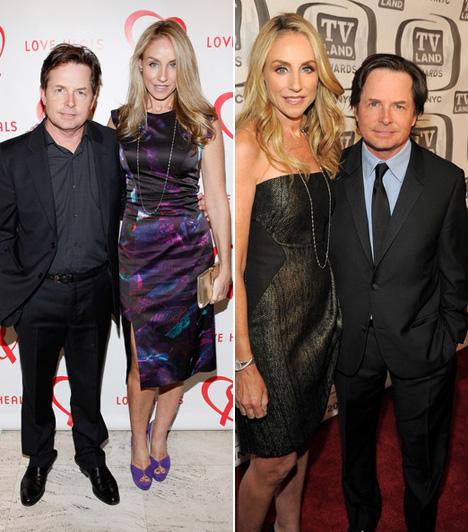Michael J. Fox és Tracy Pollan  A 162 centi magas színész, Michael J. Fox és felesége, Tracy Pollan között tíz centi a különbség, a pár mégis olyan harmonikus hatást kelt, mint amilyen 23 éve tartó házasságuk.  Kapcsolódó cikk: Sokat öregedtek? Így néznek ki most a Vissza a jövőbe imádott sztárjai »