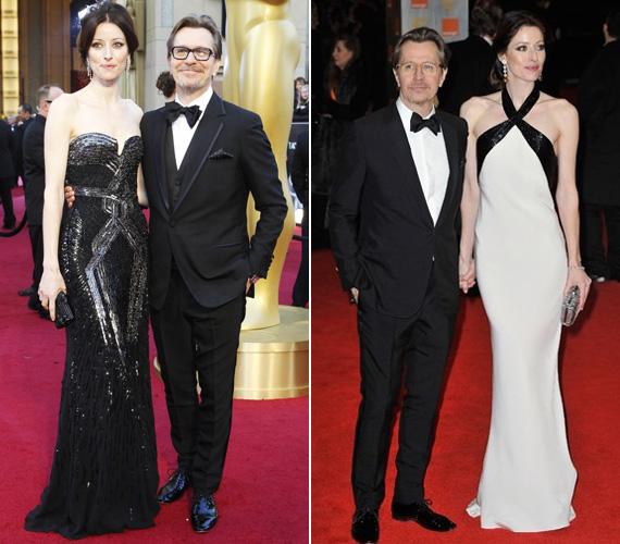Az idei Oscar- és BAFTA-díjátadón, amelyen a Oldmant a Suszter, szabó, baka, kém című filmben nyújtott alakításáért jelölték a legjobb színész kategóriában.