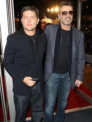 George Michael és Kenny Goss