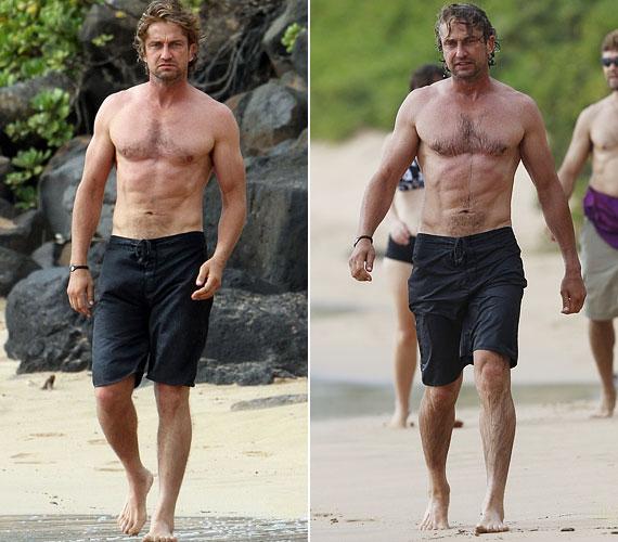 Kiszabadult a Los Angeles-i nyüzsgésből, erre a tengerparton szembe találja magát egy paparazzóval. Szegény Gerard, nem csoda, ha morcos.
