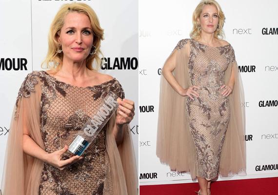 Néhány hónapja, 2015 júniusában a Glamour-gálán is részt vett. Megnyerte a legjobb színházi színésznőnek járó díjat A vágy villamosa Blanche DuBois-jának alakításával.