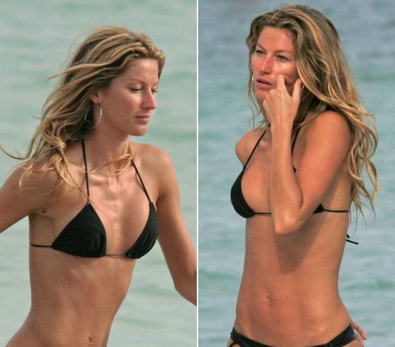 Így mutatott a Victoria's Secret egykori modellje egy öt évvel ezelőtti fotón.