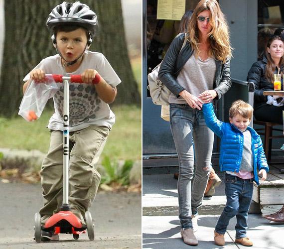 Kisfia, Benjamin imádja a sportokat, nagyon aktív kisgyerek.