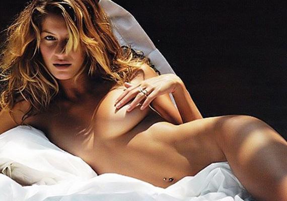 Gisele sohasem szégyellte meztelen testét, ami nem is csoda, hiszen 35 évesen legalább 15 évet letagadhatna.