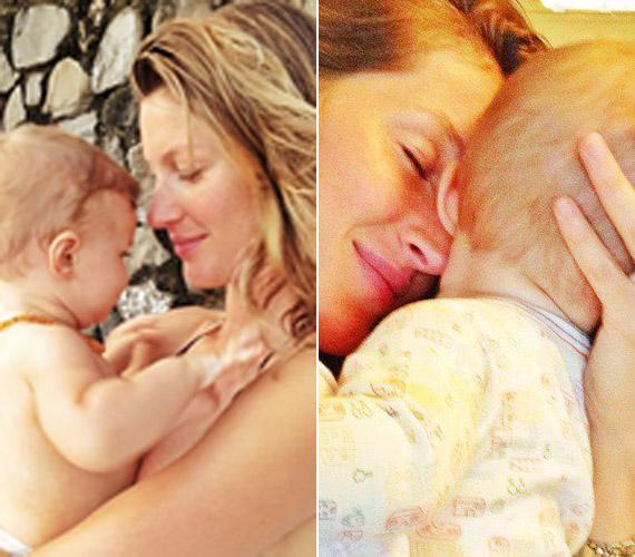 Hatalmas az összhang anya lánya között.