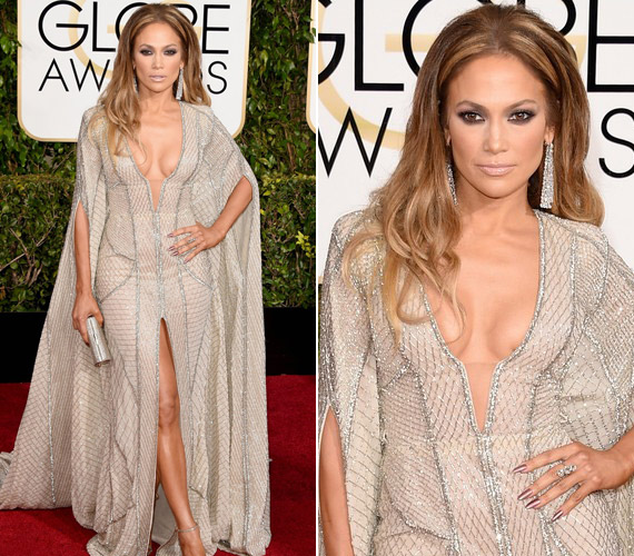 Jennifer Lopez kedvenc tervezője,Zuhair Murad alkotásában jelent meg.