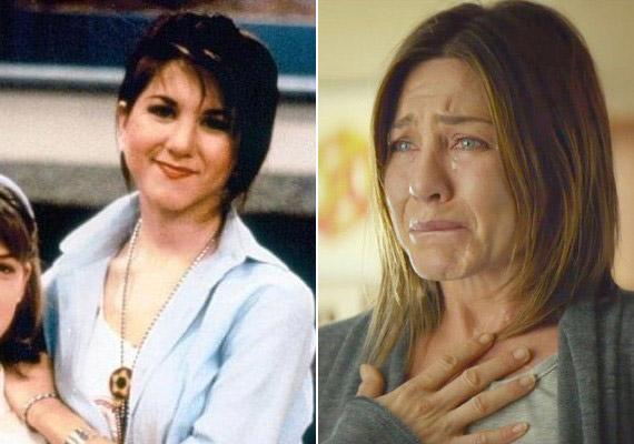 Jennifer Aniston a Jóbarátok előtt is játszott sorozatban, aMolloyban 1990-ben tűnt fel, kicsit kerekebb arccal. Most a Cake című filmjéért várományosa a Golden Globe-nak.
