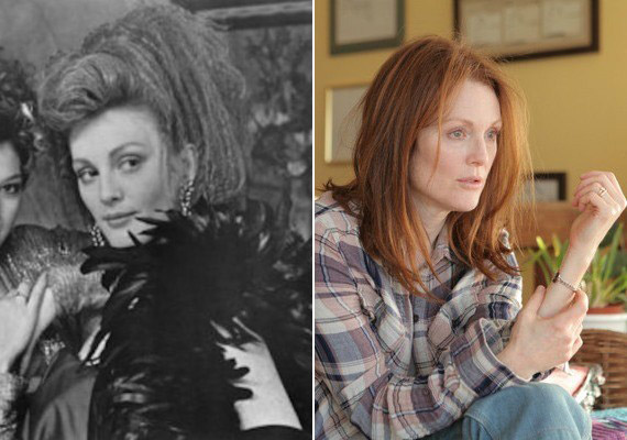 Julianne Moore 27 éves volt, amikor először szerepet kapott filmben, az I'll Take Manhattan minisorozatban. Most aStill Alice főszerepében alakít nagyot.