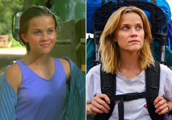 Reese Witherspoon a Holdemberben tűnt fel 15 évesen. Idén a Vadon című filmért jelölték.