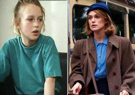 Keira Knightley aScreen One című sorozatban tűnt fel 1993-ban. Most a Kódjátszma filmért jelölték.