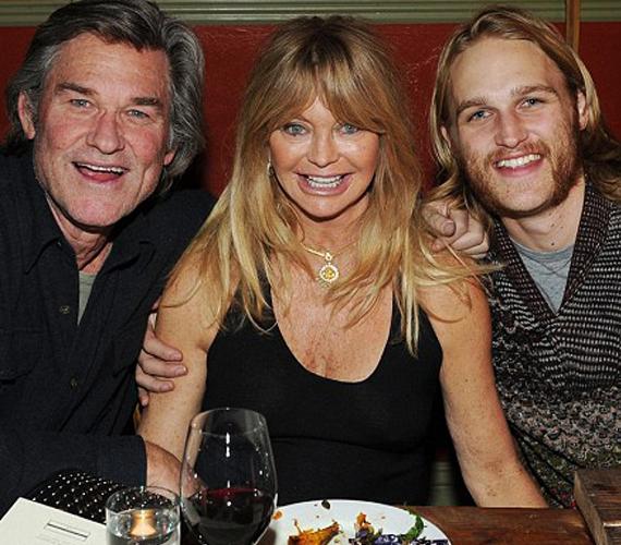 A 68 éves Goldie Hawn és a 62 éves Kurt Russell fia, Wyatt mind a két szülőjéből örökölt valamit.