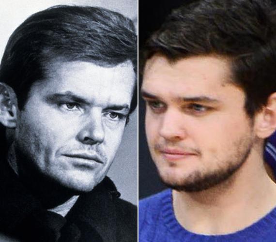 Jack Nicholson fia pont úgy néz ki, mint a színész fiatalabb korában.