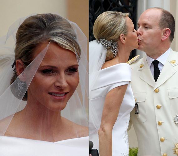 A hercegi párnak három gyermeke született: Caroline monacói hercegnő, II. Albert monacói herceg és Stephanie monacói hercegnő. Apja 2005-ben bekövetkezett halála után Albert herceg léphetett a trónra.