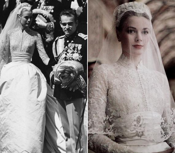 Életében a legnagyobb változást kétségkívül a III. Rainer monacói herceggel történt megismerkedése jelentette. Az évszázad esküvőjének nevezett ceremóniát 1956. április 18-án tartották a monacói palota tróntermében, a 27 éves filmcsillag menyasszonyi ruhája azóta legendássá vált.