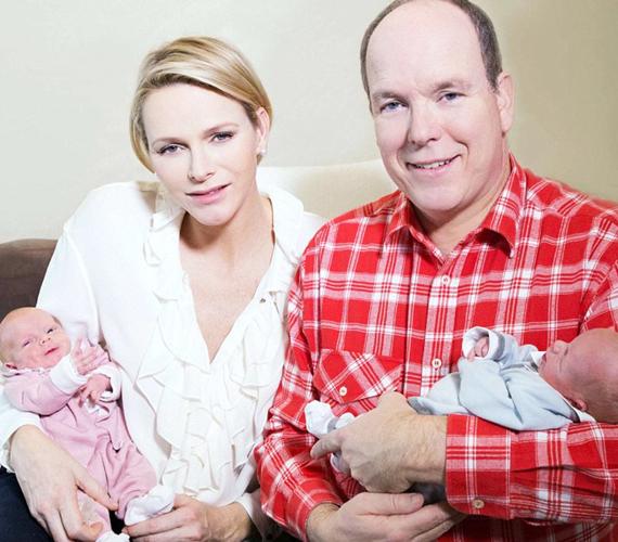 Grace Kelly legkisebb lányunokája a mindössze nyolc hónapos Gabriella Thérèse Marie Grimaldi monacói hercegnő, aki a trónöröklési sorban a második helyen áll ikertestvére, Jakab herceg után. Ők Albert herceg legkisebb gyerekei. A babák 2014. december 10-én születtek.