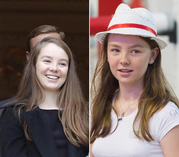A 16 éves Alexandra Charlotte Ulrike Maryam Virginia Caroline kisebbik lánya, aki a hercegnő második házasságából született. A fiatal lány tehetséges műkorcsolyázó. Öt féltestvére van.