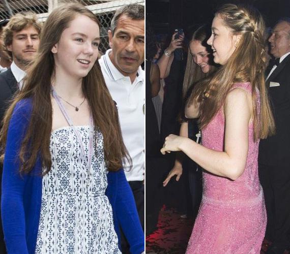 Caroline hercegnő legkisebb gyermeke 15 éves, és Alexandrának hívják - a négy testvér közül egyedül neki van hercegi rangja, az ő édesapja ugyanis Hannover hercege, Ernst August. Caroline 1999-ben ment hozzá a férfihoz, kilenc évvel az után, hogy második férje, Stefano Casiraghi életét vesztette egy motoroshajó-versenyen.