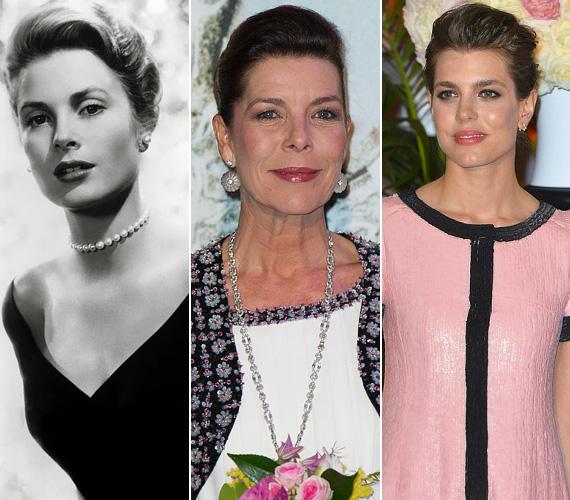 Nagymama, anya, lánya - elképesztően hasonlít Grace Kellyre a lánya, Caroline hercegnő és az unokája, a 28 éves Charlotte is. Charlotte Casiraghi édesanyja, Caroline második házasságából született, pink ruhájában és bájos mosolyával elbűvölte a rózsabál résztvevőit. Dolgozott már újságíróként, és több jótékonysági szervezet támogatója.
