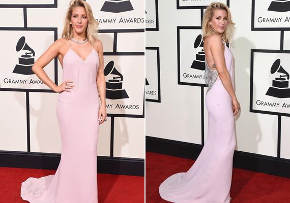 Ellie Gouldingot nemcsak a legjobb popdal kategóriában jelölték, a legjobban öltözött sztár díját is ő kapta meg ebben a babarózsaszín Stella McCartney-darabban.
