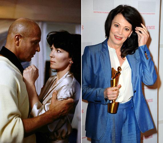 Iris Berben alakította Evelyn Lauritzent, aki szép lassan kikerült erőszakos férje árnyékából, és megmutatta, hogy nem olyan elveszett nő, mint amilyennek tűnt. A ma már 63 éves színésznő évek óta Németország egyik legkedveltebb sztárja, 2010-ben a Német Filmakadémia elnökévé választották. Nemcsak a színészetnek él, társadalmi és politikai projektekben is aktívan részt vesz.